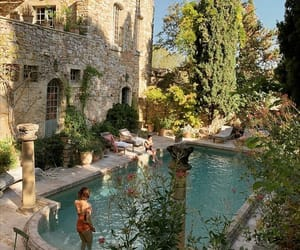 pool, summer, and italy image