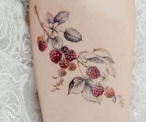 tattoo and berries image