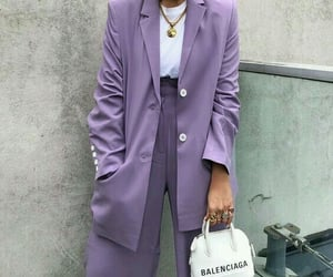 fashion, purple, and accessories image