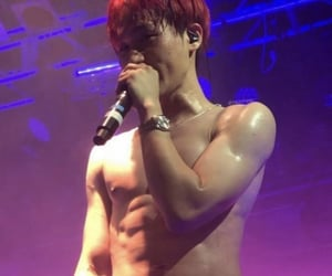 abs, Hot, and minsik image