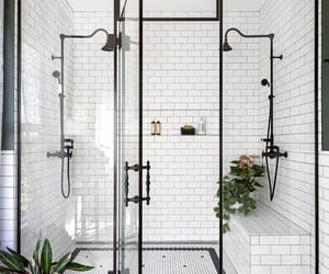 bathroom, room, and shower image