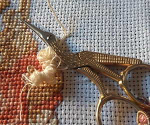diy, embroidering, and crosstitch image