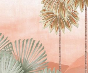 background, pink, and desert image