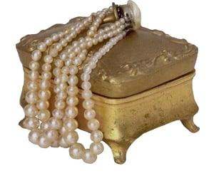 moodboard, niche, and pearls image