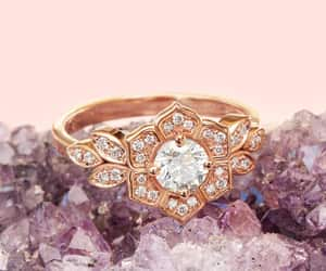 etsy, goldring, and uniquerings image