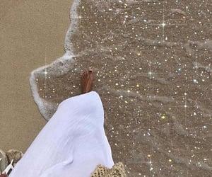 beach, glitter, and sparkle image