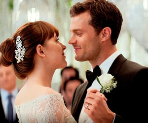 christian grey and fifty shades freed image