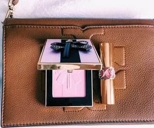 baby pink, blush, and cosmetics image