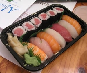 food, japan, and aesthetic image