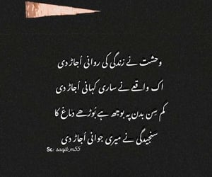 poetry, love, and urdu image