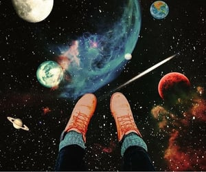 aesthetic, space, and astronomy image