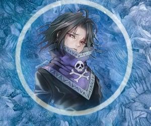 anime, blue, and hunter image