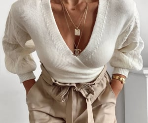 beige, style, and girl image