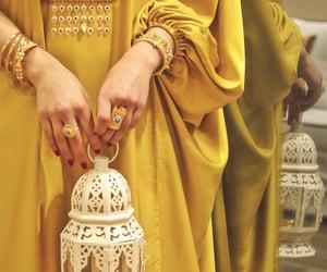 girls, henna, and Ramadan image