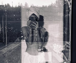 black and white, photography, and weheartit image