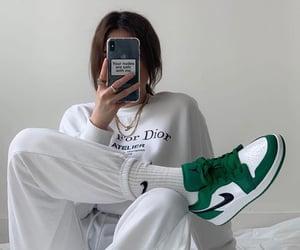 aesthetic, girl, and nike image