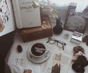 aesthetic, autumn, and bibliophile image