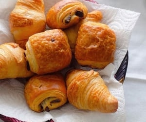 aesthetic, french pastry, and morning image