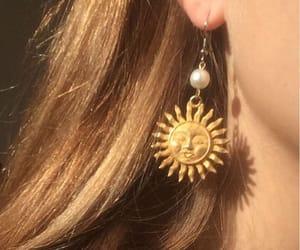 aesthetic, sun, and earrings image