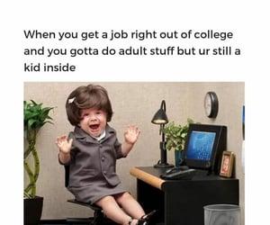 Adult, uni, and lool image