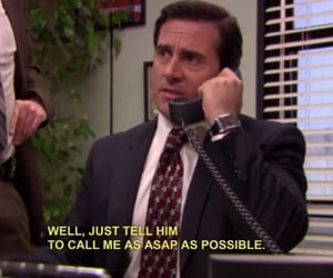 the office, funny, and quote image