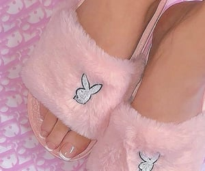 nails, Playboy, and shoes image