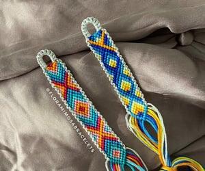blue, bracelets, and pulsera image