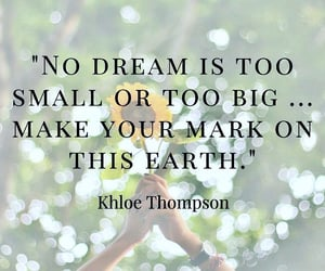 Just Do It, dream big, and happy monday image