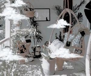 aesthetic, backyard, and fantasy image