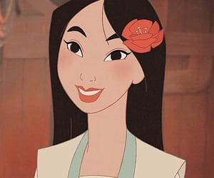 china, disney, and mulan image
