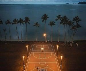 aesthetic, beach, and dusk image