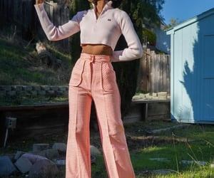 fashion, look book, and thrifted image