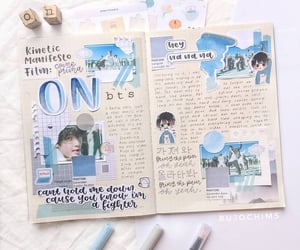 bts and bullet journal image