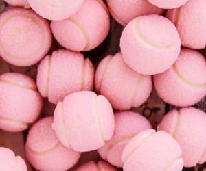pink, aesthetic, and ball image