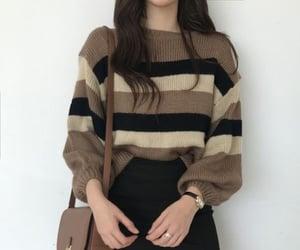 black, brown, and kfashion image