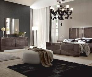 bedroom, home, and luxury bedroom image
