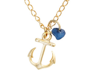 necklace, accessories, and anchor image