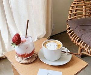 cafe, coffee, and korea image