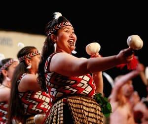 Maori, new zealand, and poi image