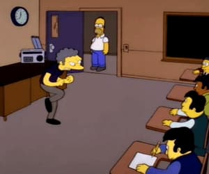 gif, southpaw, and the simpsons image