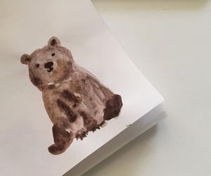 aesthetic, art, and bear image