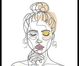 beauty, girl, and meditation image