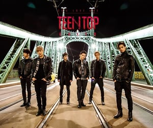 teen top, chunji, and c.a.p image