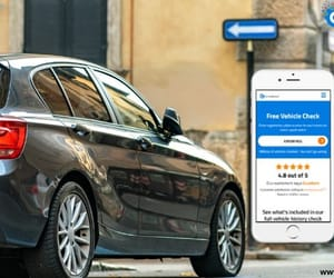 car registration check, check my reg, and uk reg check image