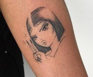 aesthetic, girl, and manga girl image
