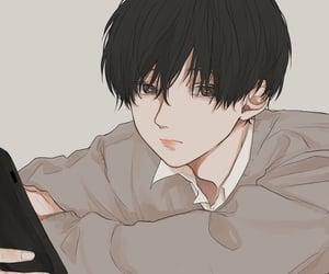 art, anime boy, and artwork image