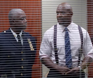 nypd, holt, and terry jeffords image