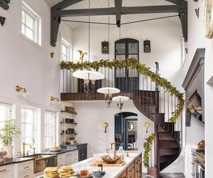decor, pancakes, and high ceiling image