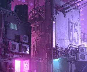cyberpunk, future, and neon image