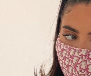 girl, dior, and mask image